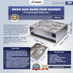 Jual Mesin Bain Marie Penghangat Makanan (EBM Type) di Medan