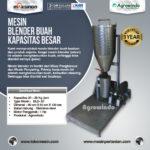 Jual Mesin Blender Buah Kapasitas Besar di Medan