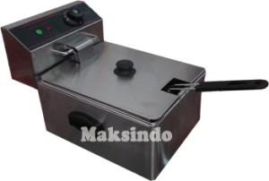 mesin deep fryer listrik maksindo medan