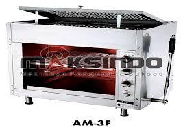 mesin infrared gas salamander maksindo medan