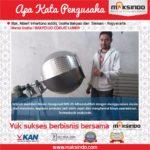 Jual Mesin Pengaduk Bumbu (Hexagonal) di Medan