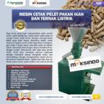 Jual Mesin Cetak Pelet Pakan Ikan dan Ternak Listrik – AGR-PL220 di Medan