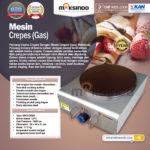Jual Mesin Gas Double Pan (DE8Ax2) di Medan