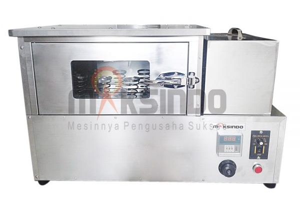 Mesin Pembuat Pizza Cone Paket Lengkap-maksindo-3