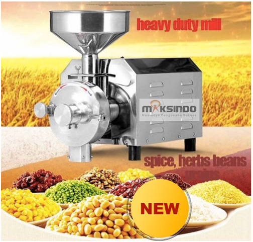 Mesin Penepung Biji-Bijian, Bumbu dan Herbal (GRAIN GRINDER)-2-maksindo