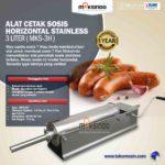 Jual Alat Cetak Sosis Horizontal Stainless 3 – 7 liter (MKS-3H) di Medan