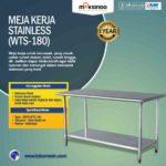 Jual Meja Kerja Stainless (WTS-182) di Medan