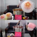 Jual Mesin Gula Kapas Bentuk Bunga (MKS-CT76) di Medan