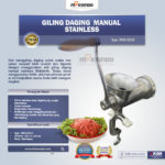 Jual Giling Daging Manual Stainless MKS-SG10 di Medan