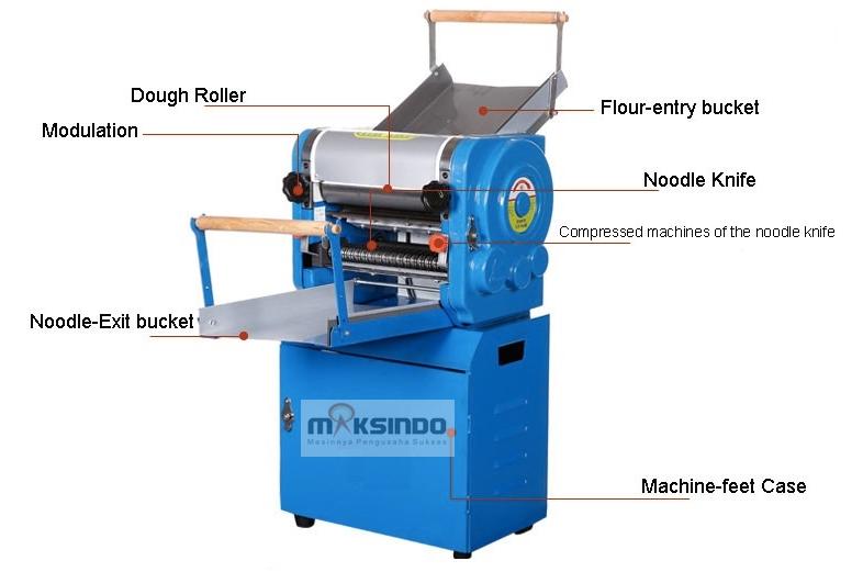 Mesin Cetak Mie Industrial (MKS-300)-6