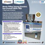Jual Mesin Filling Tepung dan Biji (2-100gr) di Medan