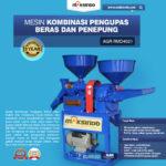 Jual Kombinasi Pengupas Beras dan Penepung RMD4021 di Medan