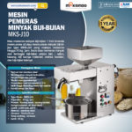 Jual Mesin Pemeras Minyak Biji-Bijian (J10) di Medan