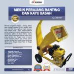Jual Mesin Perajang Kayu Basah dan Ranting – CP07 di Medan