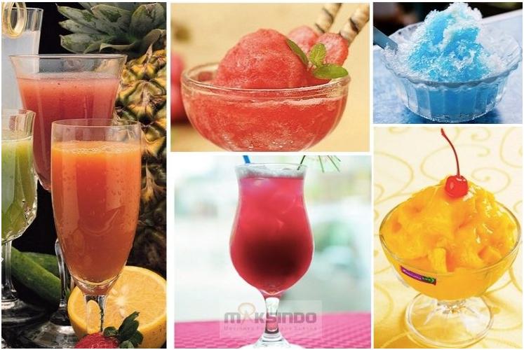 Mesin Slush (Es Salju) dan Juice - SLH01