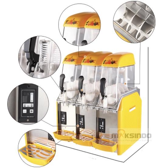 Mesin Slush (Es Salju) dan Juice - SLH03-2