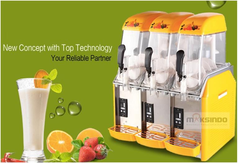 Mesin Slush (Es Salju) dan Juice - SLH03-3
