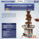 Jual Mesin Chocolate Fountain 4 Tier (MKS-CC4) di Medan