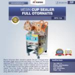 Jual Mesin Cup Sealer Full Otomatis Stainless (CPS-12A) di Medan