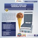 Jual Pembuat Cone dan Mangkuk Es Krim (CIC14) di Medan