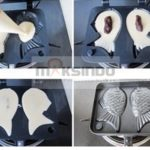 Jual Mesin Kue Waffle Ikan Taiyaki – Gas (TYK02) di Medan
