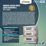 Jual Mesin Oven Roti Gas 6 Loyang (MKS-RS36) di Medan