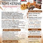 Training Usaha Roti Kering, 8 Oktober 2017