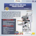 Jual Mesin Cetak Mie dan Press Adonan MKS-900 di Medan