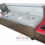 Jual Electric Bain Marie MKS-BMR3 (Penghangat Makanan) di Medan