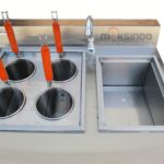 Jual Gas Pasta Cooker With Bain Marie (4 Baskets) MKS-PCBM4 di Medan
