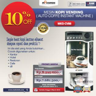 Jual Mesin Kopi Instant (Auto Coffee Instant Machine) di Medan
