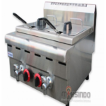 Jual Counter Top 2-Tank 2-Basket Gas Fryer di Medan