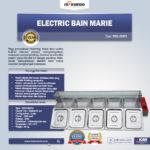 Jual Electric Bain Marie (Penghangat Makanan) MKS-BMR5 di Medan