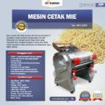 Jual Mesin Cetak Mie MKS-160SS di Medan