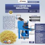 Jual Mesin Cetak Mie Industrial (MKS-500) di Medan