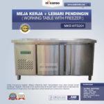 Jual Meja Kerja + Lemari Pendingin (Working Table With Freezer) MKS-WTS201 di Medan