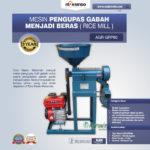 Jual Mesin Pengupas Gabah Menjadi Beras (Rice Mill) AGR-GRP80 di Medan