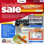 Jual Mesin Pembuat Egg Roll (Listrik)- MKS-ERG001 di Medan