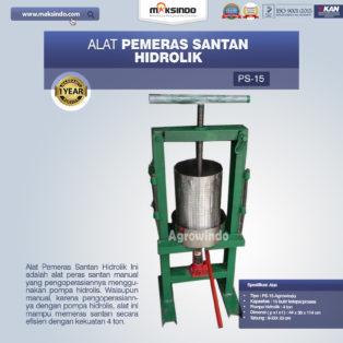 Jual Mesin Peras Santan di Medan