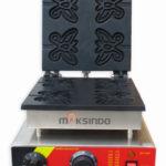 Jual Mesin Waffle Maker Bentuk Kupu-Kupu (Butterfly) MKS-BFLYW23 di Medan