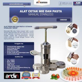 Jual Alat Cetak Mie dan Pasta Manual Stainless (ARDIN) di Medan