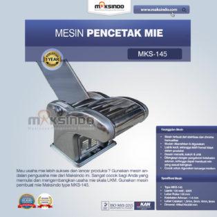 Jual Mesin Cetak Mie (MKS-145) di Medan
