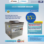 Jual Vacuum Sealer Double SealMSP-DZ400/2T di Medan