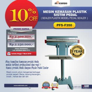 Jual Mesin Pedal Sealer di Medan
