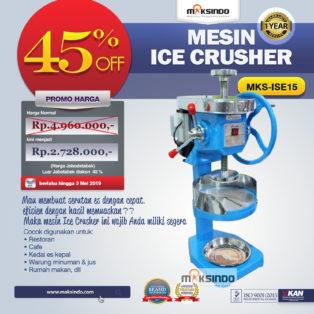 Jual Mesin Ice Crusher MKS-ISE15 di Medan