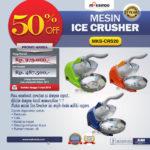 Jual Mesin Ice Crusher MKS-CRS20 di Medan