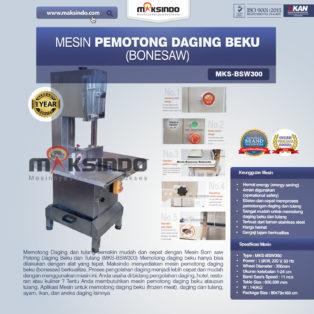 Jual Bonesaw Pemotong Daging Beku (BSW300) di Medan
