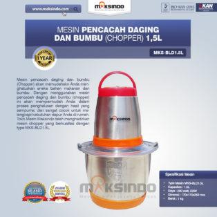 Jual Mesin Pencacah Daging Dan Bumbu (Chopper) MKS-BLD1.5L di Medan
