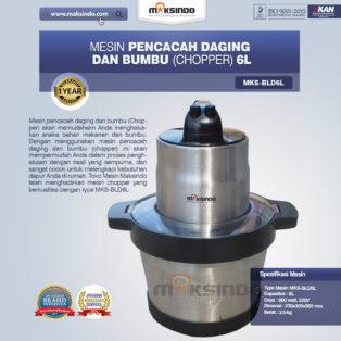 Jual Mesin Pencacah Daging dan BumbuMKS-BLD6L di Medan