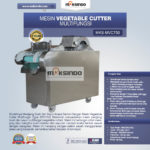 Jual Mesin Vegetable Cutter Multifungsi (Type MVC750) di Medan